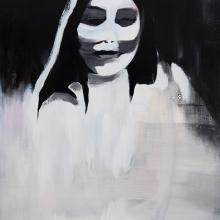Street-Hooker-6-2015-Öl-und-Lack-auf-Leinwand-160-x-95-cm
