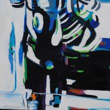 Street-Hooker-7-2015-Öl-und-Lack-auf-Leinwand-145-x-95-cm
