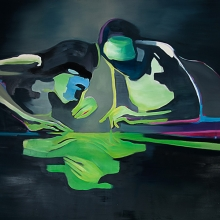 Ohne-Titel-Narziss-3-2016-Öl-und-Lack-auf-Leinwand-200-x-150-cm